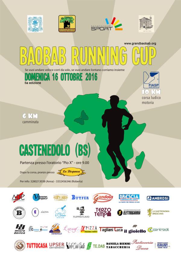 Baobab Runnig Cup – CASTENEDOLO – 16 OTTOBRE 2016