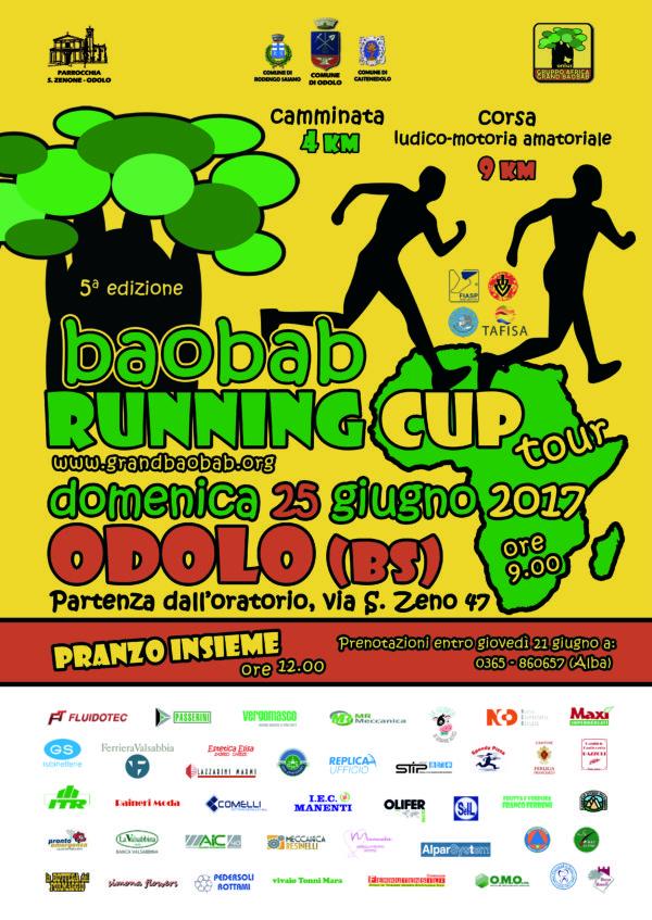 Baobab Runnig Cup – ODOLO – 25 GIUGNO 2017