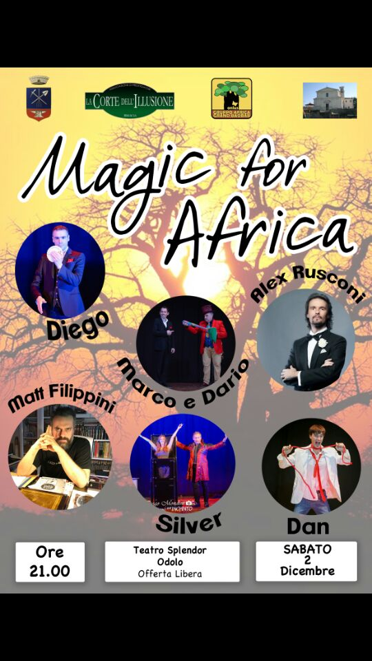 Serata di magia – Magic for Africa
