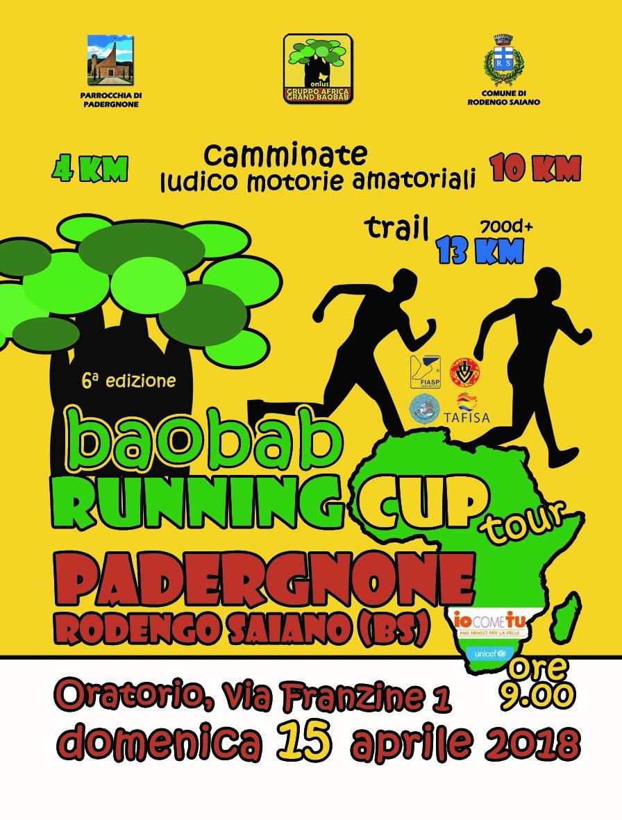 Baobab Running Cup: Ringraziamenti e fotografie
