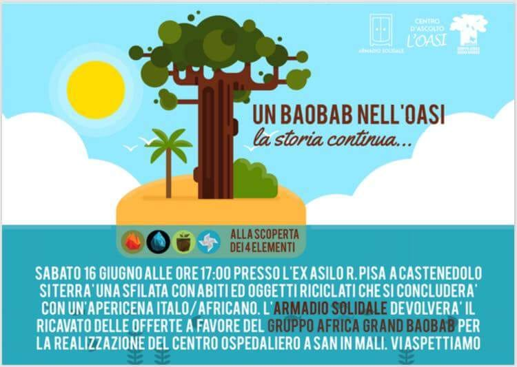 Un Baobab Nell'Oasi